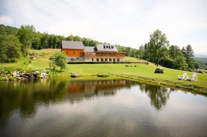 Amee Farm Lodge in Summer