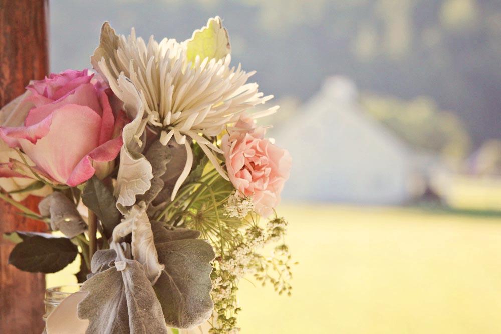 Sunny Wedding Flowers - Pittsfield Garden Center