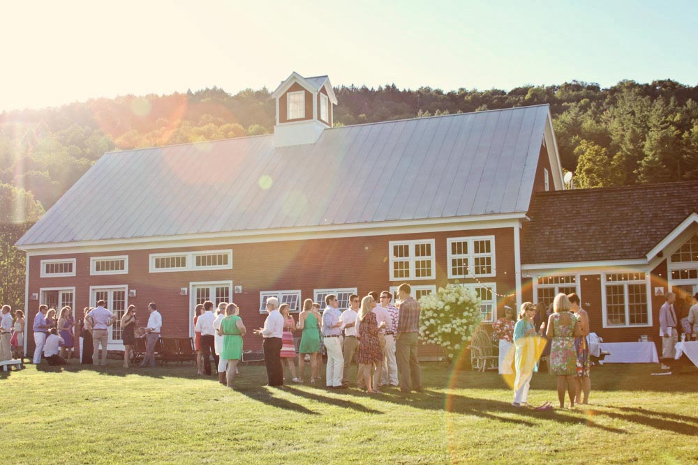 Summer night on the Farm - Eliza + David's  welcome dinner
