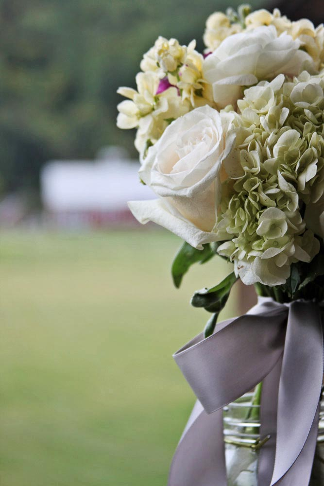 Riverside Farm Vermont Wedding Details - Flowers by Pittsfield Garden Center