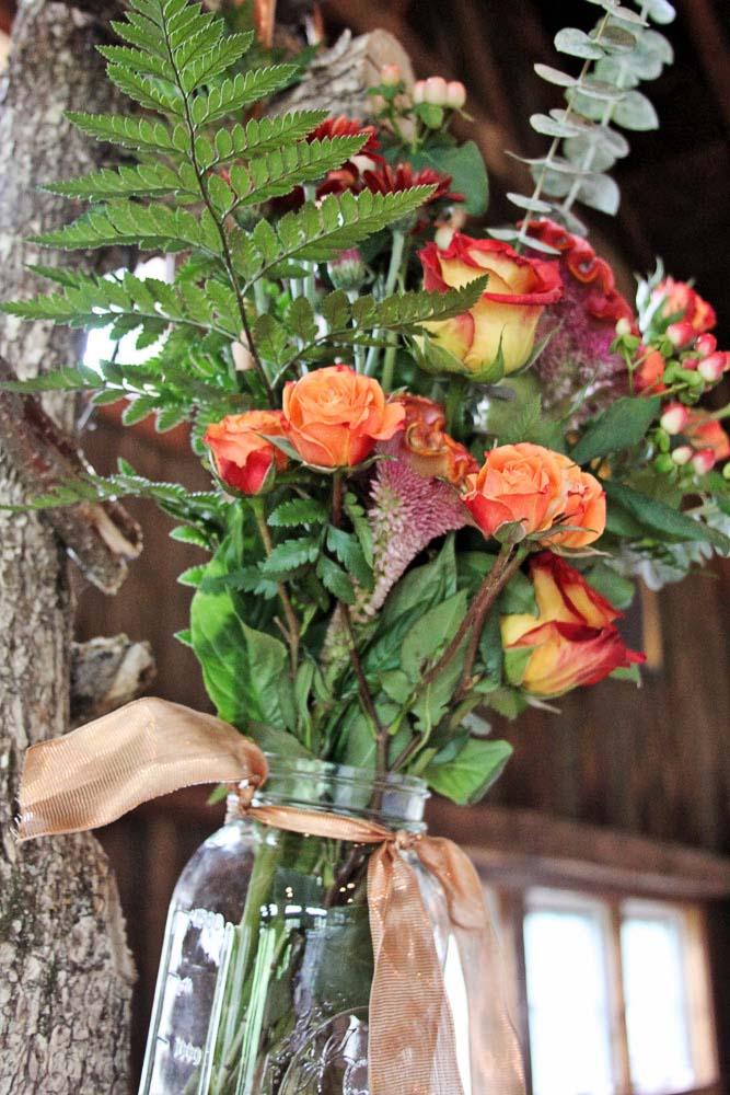 Riverside Farm Wedding - Flowers Pittsfield Garden Center