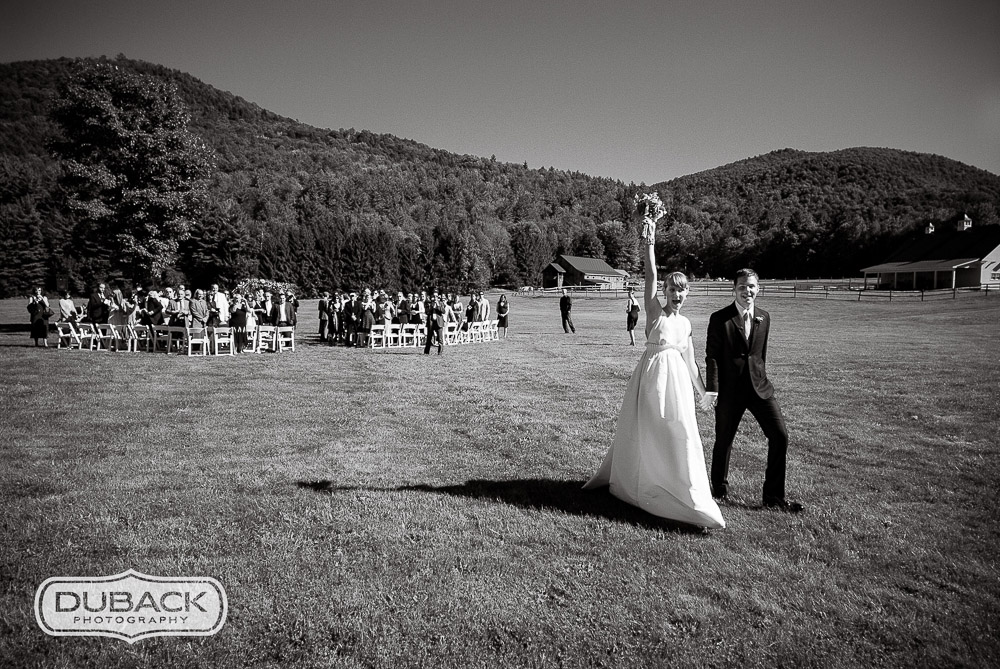 Classic Vermont Meadow Wedding location