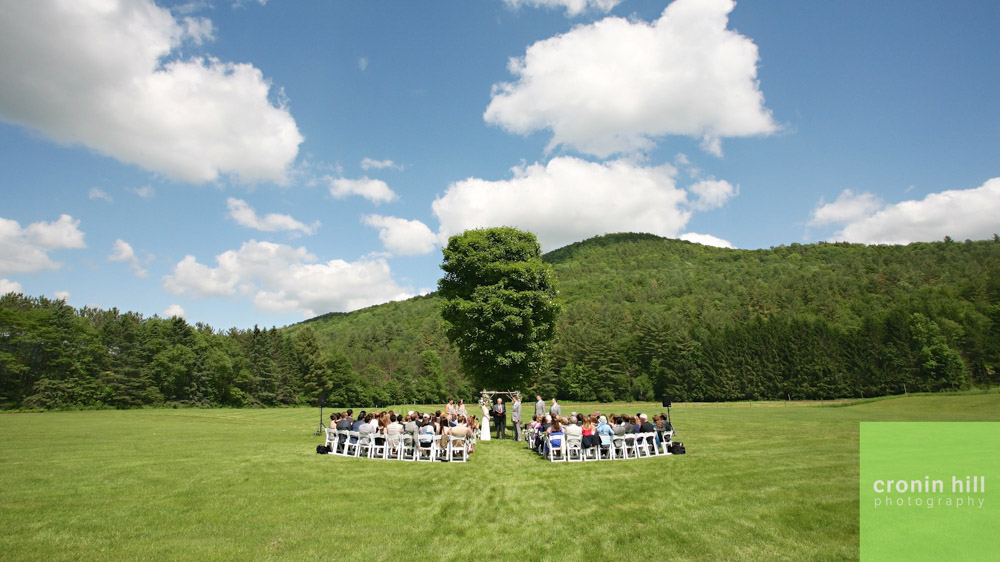 Riverside Farm Vermont Wedding Venue - Wedding Meadow