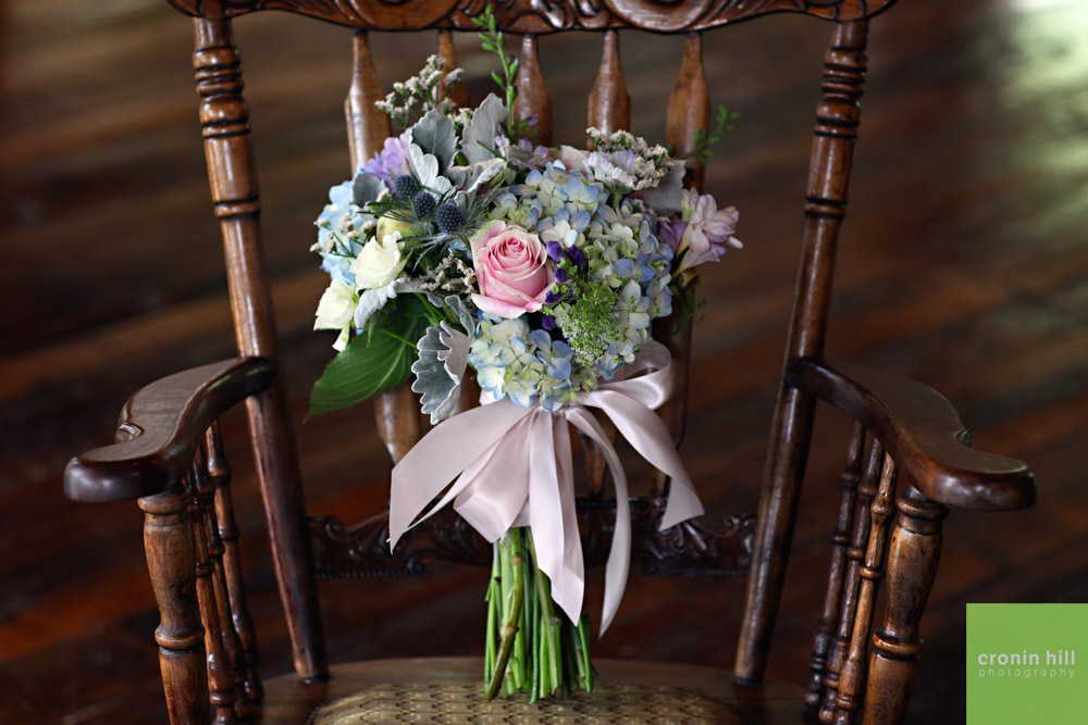 Riverside Farm Vermont Wedding Venue - Bride's Bouquet
