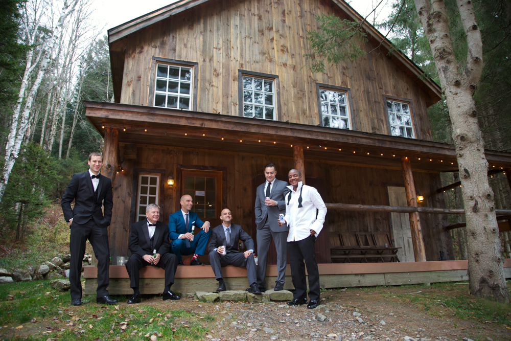 The Groom's Cabin at Riverside farm - photo Romana Vysatova