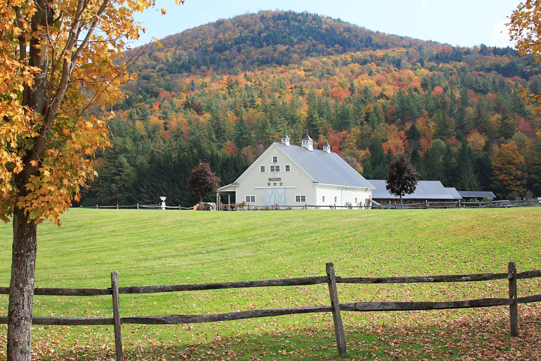 Farm Barn white barn - vermont weddings