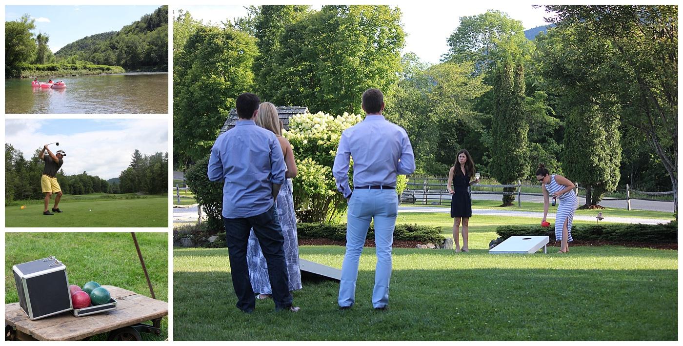Outdoor Activities for Wedding Guests