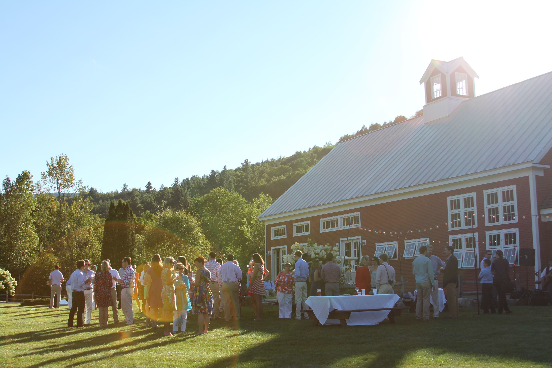 Summer Evening Wedding Party